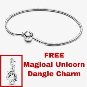PANDORA Me Snake Chain Bracelet +FREE dangle charm